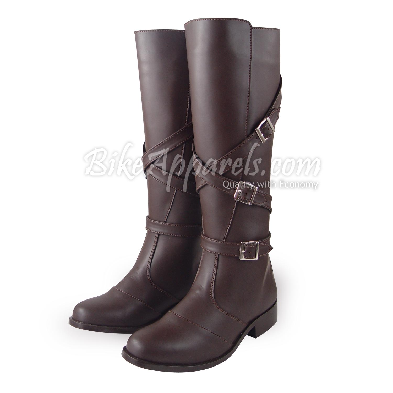 fammz men man gardena sylish fashion motorcycle tall knee high leather boot ebay. Black Bedroom Furniture Sets. Home Design Ideas