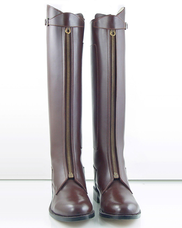 Hispar Invader 1 Man Mens Tall Knee High Leather