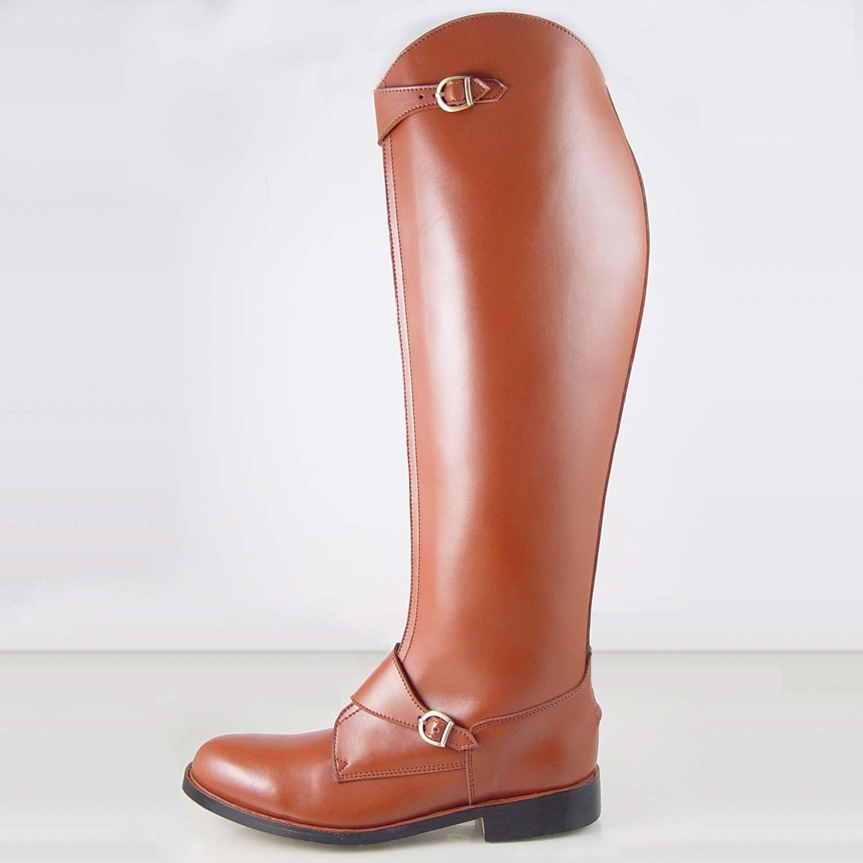 Hispar Invader-2 Man Men's Tall Knee High Leather Equestrian Polo ...